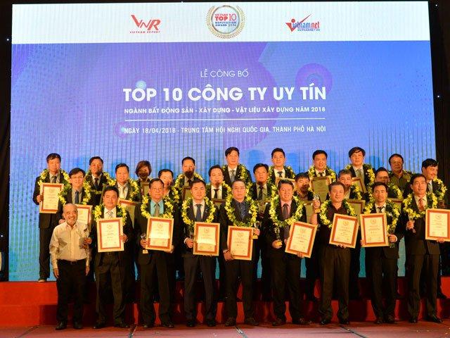 Hado lọt top 10 công ty uy tín nhất Việt Nam nhiều năm liền.