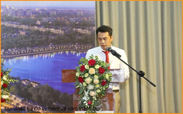 ông Chu Tuấn Anh - phó tổng giám đốc - CĐT Căn hộ Hà Đô Quận 8