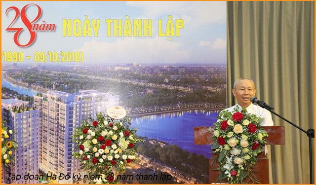 Nguyễn Chí Thông - Chủ tịch tập đoàn Hà Đô - Chủ đầu tư căn hộ Hà Đô quận 8.