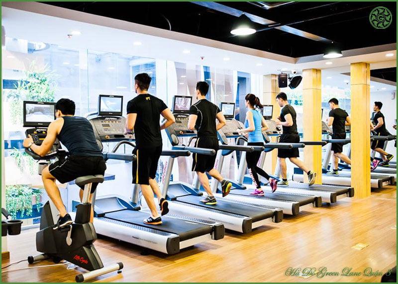 Gym tại Hado Green Lane Phạm Thế Hiển Quận 8.