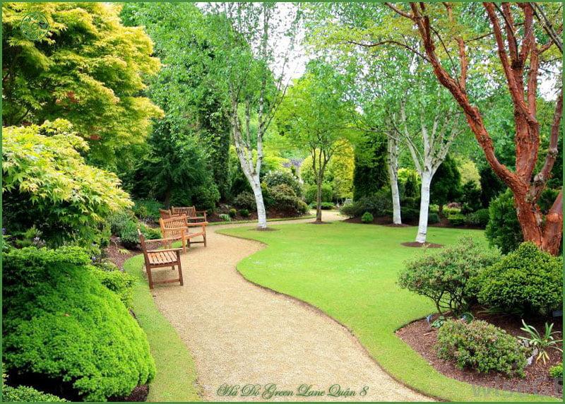 Công viên tại Hado Green Lane Phạm Thế Hiển Quận 8.