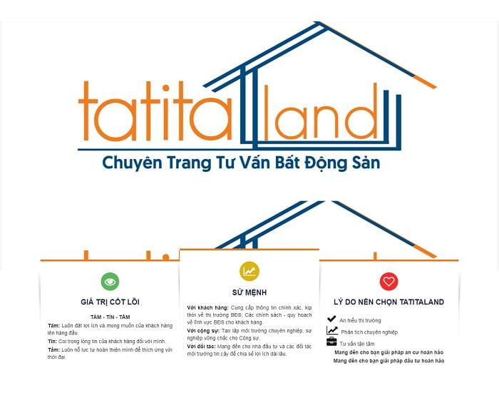 Chuyên trang tư vấn bất động sản TATITALAND.COM