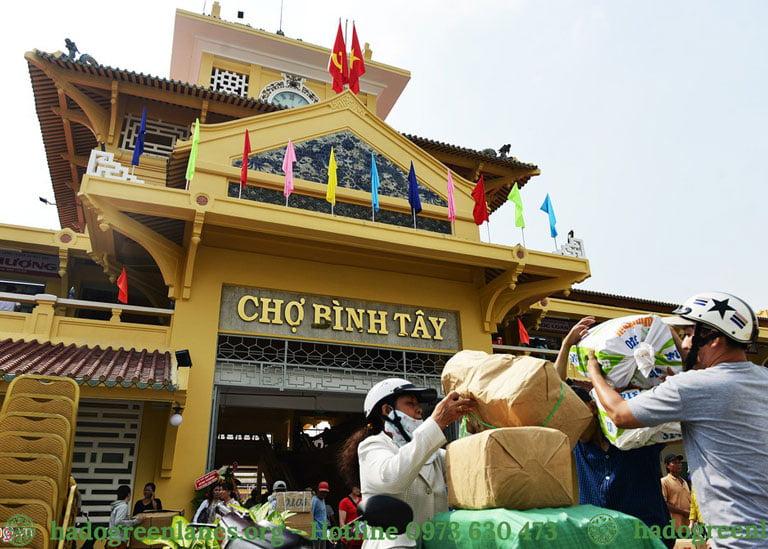 Chợ Bình Tây cách dự án chung cư Phạm Thế Hiển Quận 8 chỉ 10 phút.