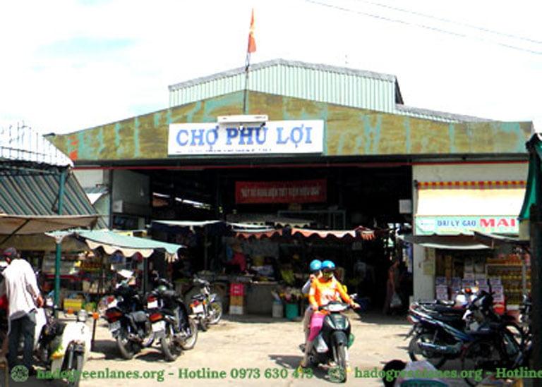 Chợ Phú Lợi - Đối diện dự án Hado Green Lane Quận 8.